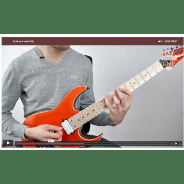 69 Rock und Metal Riffs Videolektion