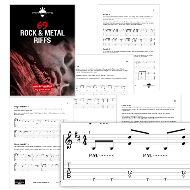 69 Rock und Metal Riffs eBook