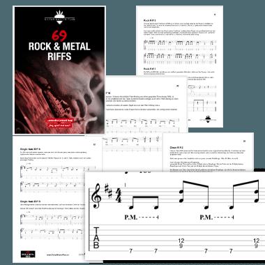 69 Rock und Metal Riffs eBook