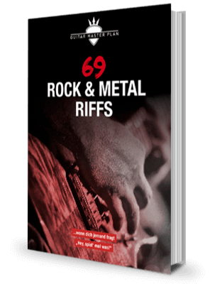 69 Rock Metal Riffs Buch