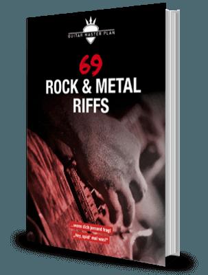 69 Rock Metal Riffs Buch