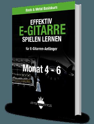 Rock Metal Basiskurs Monat 4 - 6 Buch