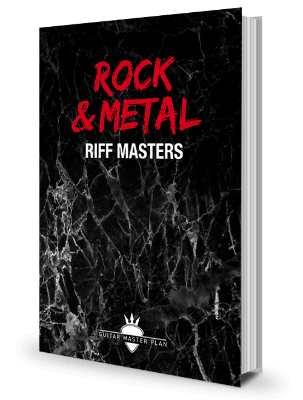 Rock Metal Riff Masters Buch