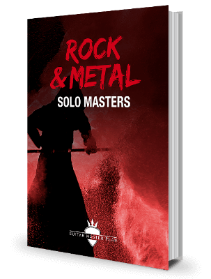 Rock Metal Solo Masters Buch
