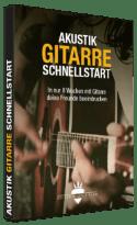 Akustik-Gitarre Schnellstart